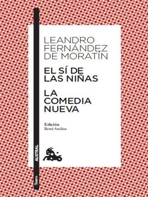cover image of El sí de las niñas / La comedia nueva