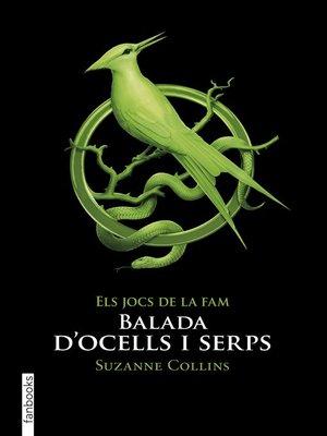 cover image of Balada d'ocells i serps