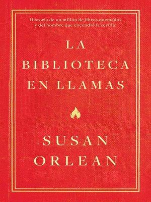 cover image of La biblioteca en llamas (Edición mexicana)