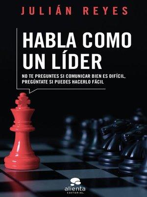 cover image of Habla como un líder