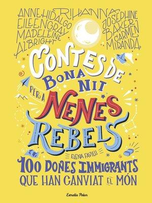 cover image of Contes de bona nit per a nenes rebels 3