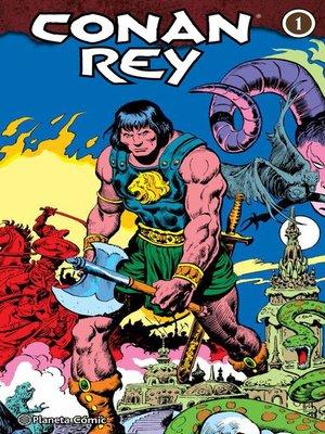 cover image of Conan Rey (Integral) nº 01/04