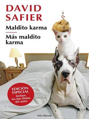 cover image of Maldito karma + Más maldito karma