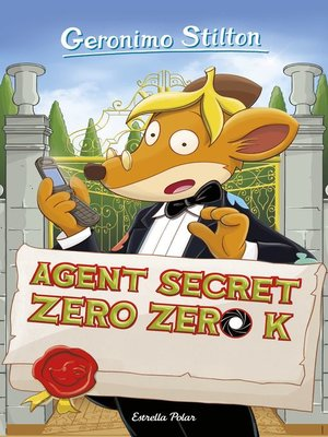 cover image of Agent secret Zero Zero K