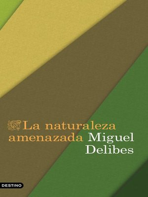 cover image of La naturaleza amenazada