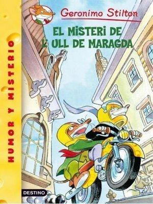 cover image of El misteri de l'ull de maragda