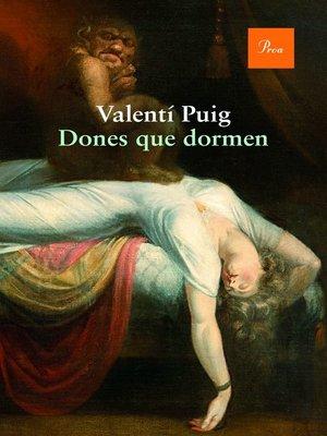 cover image of Dones que dormen