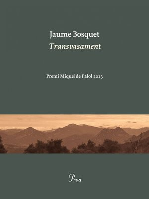 cover image of Transvasament