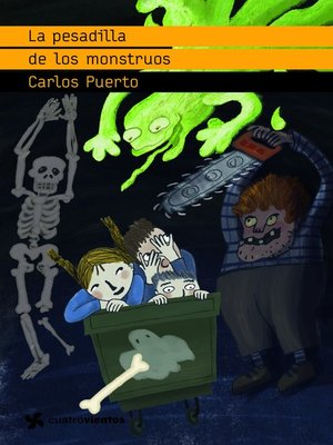 cover image of La pesadilla de los monstruos