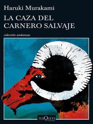cover image of La caza del carnero salvaje