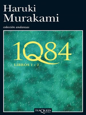 cover image of 1Q84. Libros 1 y 2