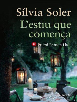 cover image of L'estiu que comença