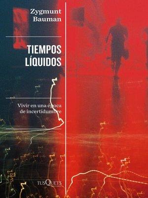 cover image of Tiempos líquidos