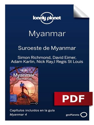 cover image of Myanmar 4. Suroeste de Myanmar