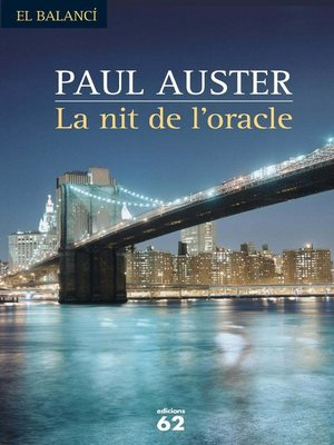 cover image of La nit de l'oracle