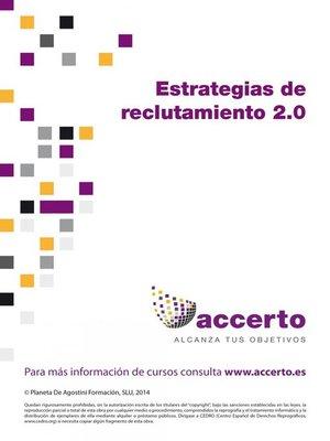 cover image of Estrategias de reclutamiento 2.0