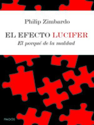 cover image of El efecto Lucifer