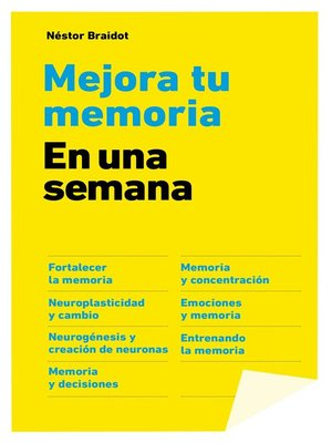 cover image of Mejora tu memoria en una semana