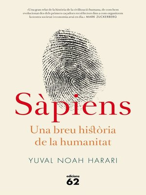 cover image of Sàpiens