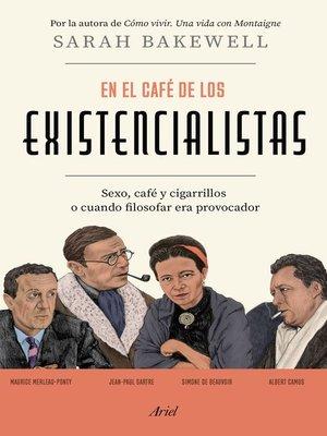cover image of En el café de los existencialistas