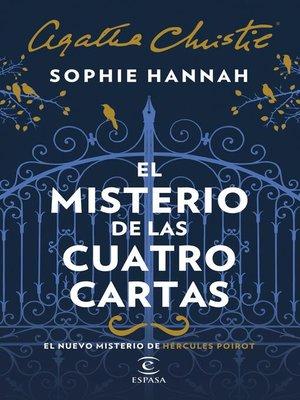 cover image of El misterio de las cuatro cartas