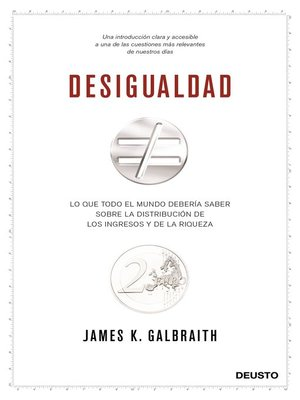 cover image of Desigualdad