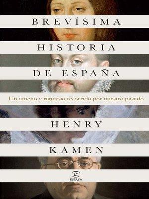 cover image of Brevísima historia de España