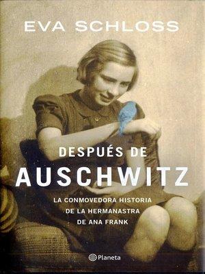 cover image of Después de Auschwitz