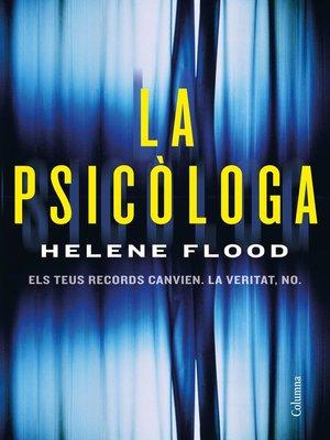 cover image of La psicòloga