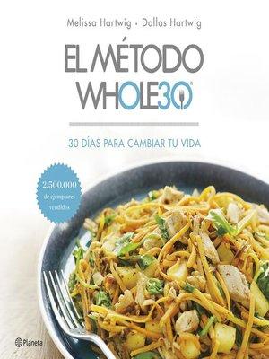 cover image of El método Whole30