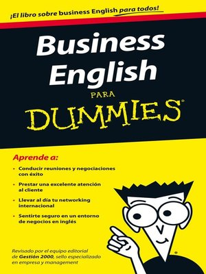 cover image of Business English para Dummies