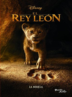 cover image of El Rey León. La novela