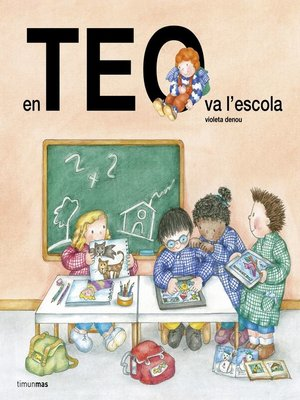 cover image of En Teo va a l'escola