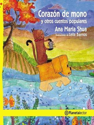 cover image of Corazón de mono y otros cuentos populares