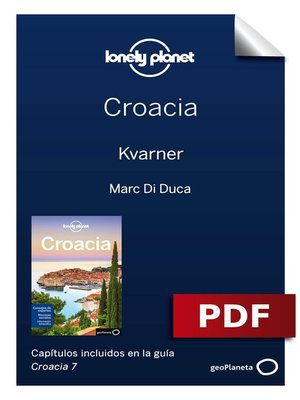 cover image of Croacia 7. Kvarner