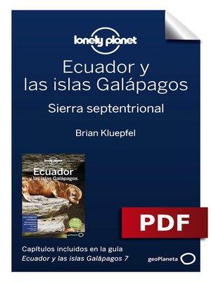 cover image of Ecuador y las islas Galápagos 7_3. Sierra septentrional