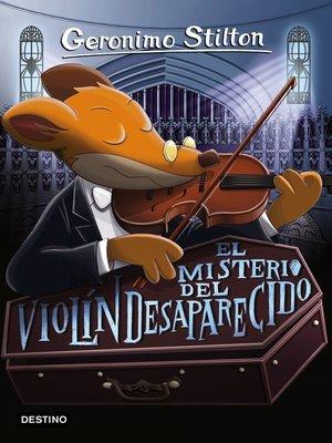 cover image of El misterio del violín desaparecido