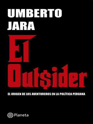 cover image of El outsider