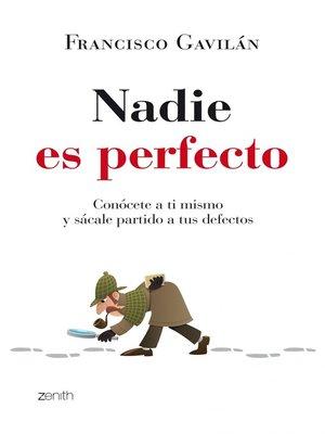 cover image of Nadie es perfecto