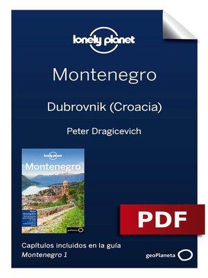 cover image of Montenegro 1. Dubrovnik (Croacia)