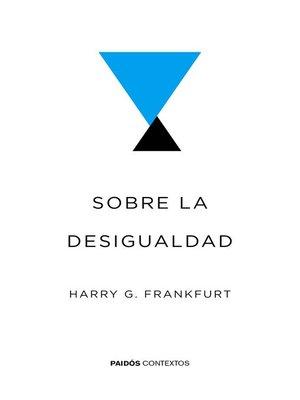 cover image of Sobre la desigualdad