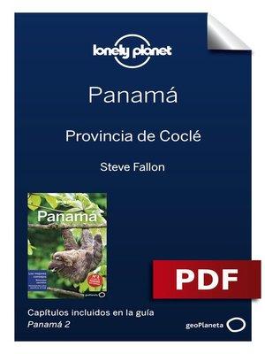 cover image of Panamá 2_4. Provincia de Coclé