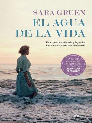 cover image of El agua de la vida