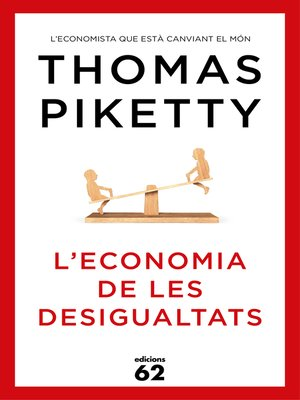 cover image of L'economia de les desigualtats