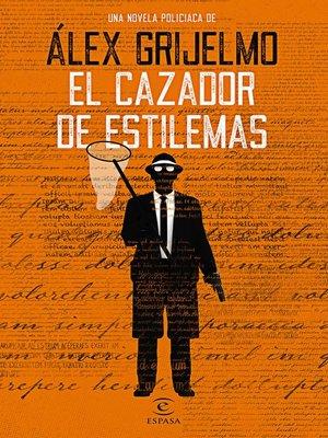 cover image of El cazador de estilemas