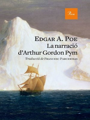 cover image of La narració d'Arthur Gordon Pym