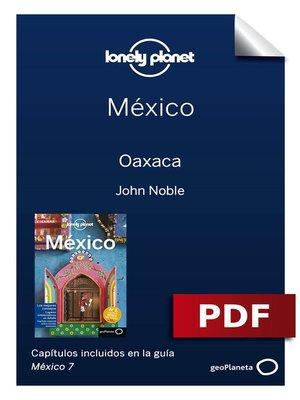 cover image of México 7_7. Oaxaca