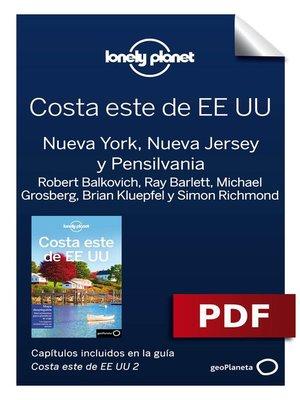 cover image of Costa este de EEUU 2_2. Nueva York, Nueva Jersey y Pensilvania