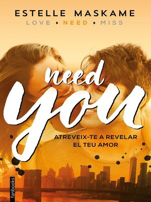 cover image of You 2. Need you (Edició en català)