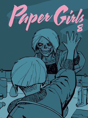 cover image of Paper Girls nº 08